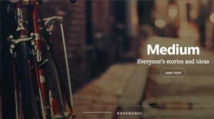 Medium: una plataforma de publicación de contenido a medio camino entre un blog y Twitter | @pciudadano | Periodismo Ciudadano | Scoop.it