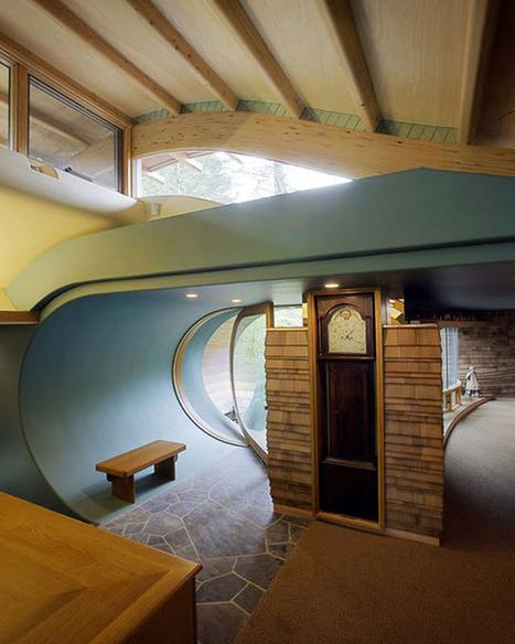 A Very Curvy Entryway  Roomarks | Arte y Fotografía | Scoop.it