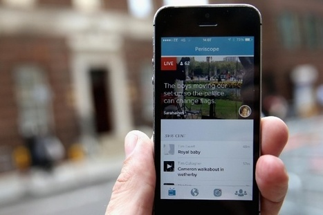 One of Snapchat's most popular features is coming to Periscope | Social Media Video | Scoop.it