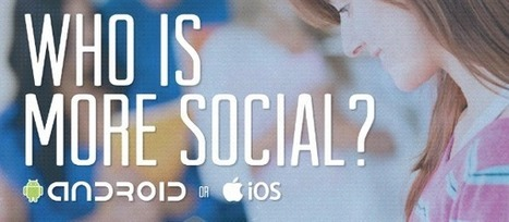 Who is more social? Android or iOS users? [Infographic] | Techi.com | Sniffer | Scoop.it