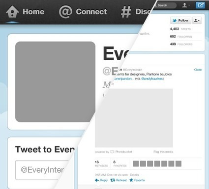 Freebie: Download New Twitter Profile GUI PSD - Smashing Magazine | Coding (HTML5, CSS3, Javascript, jQuery ...) | Scoop.it