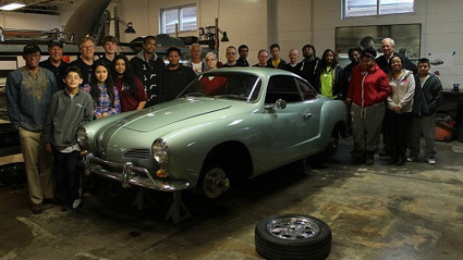 Karmann Ghia EV Driving On Tweets From Kansas To DC, Thanks To Teenagers | Sustain Our Earth | Scoop.it