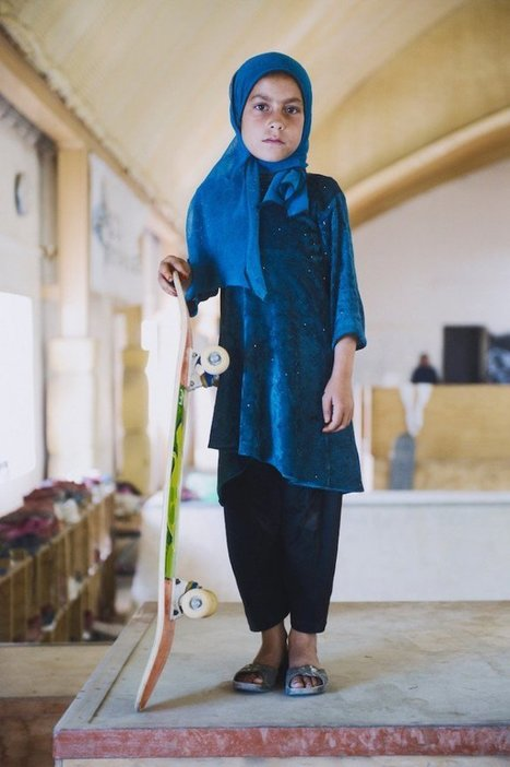 B1-Skateistan : les filles font du skate en Afghanistan | Kinzeuro | articles FLE | Scoop.it