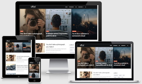 Vox Blogger Template | Blogger Templates 2016 | Blogger themes | Scoop.it