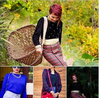 Nilu Yuleena Thapa a leading fashion bloggers from india | Blogging, bloggers and the perfect blogpost | Scoop.it
