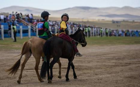 Mongolie: les enfants-jockeys au grand galop pour le festival du Naadam | Cheval et sport | Scoop.it