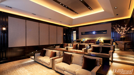 Hollywood Homes: L.A. Moguls Add Separate Home-Theater Pavilions | DIY Home Theater | Scoop.it