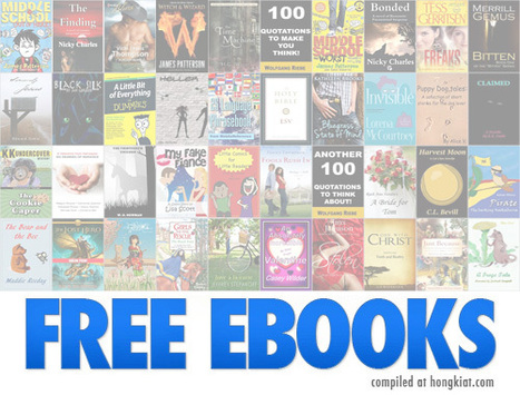 20 (More) Websites To Download Free EBooks | Beautiful web design and logo inspirations | Scoop.it