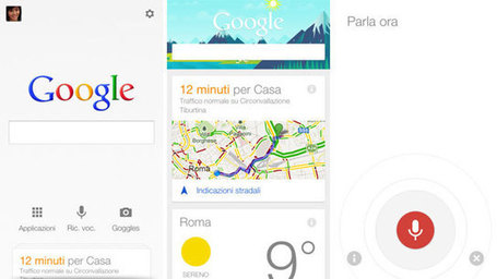 Google Now e tutti gli altri: l'elogio del qui e ora - mymarketing.it (Blog) | La scimmia nuda e Internet [ cyberantropologia ] | Scoop.it