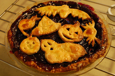 Recette de tarte aux yeux de sang pour Halloween | Fêter Carnaval, jeux, déguisements,.. | Scoop.it