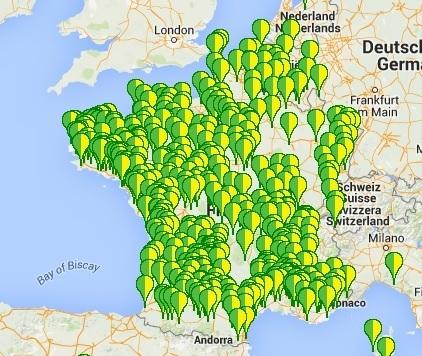Campe dans mon jardin   Les cartes des Alternatives - Géographie de la transition   Scoop.it