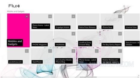 Google Reader for Windows 8- Flux | Les Outils - Inspiration | Scoop.it