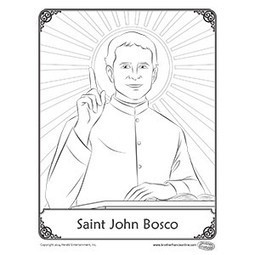 Herald Store Free - St. John Bosco coloring pages | CSSpeace | Scoop.it