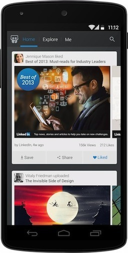 Linkedin lance l'application mobile de SlideShare - #Arobasenet | Référencement internet | Scoop.it