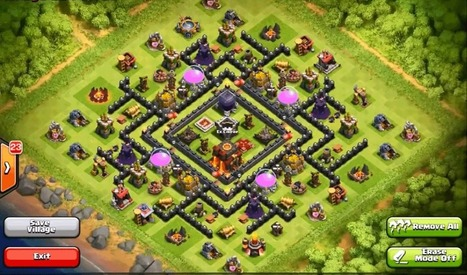 Top 10 Clash Of Clans Town Hall Level 9 Defense Base Design| | Thats My Top Ten | Scoop.it