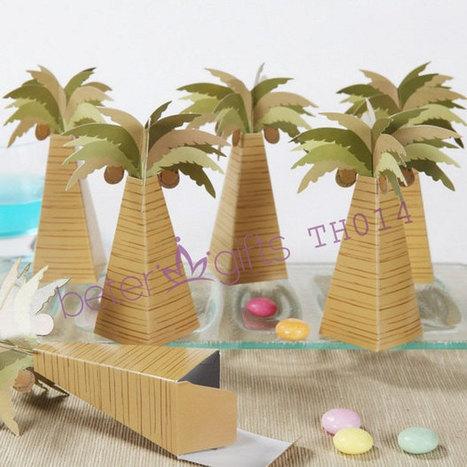 原创椰子树喜糖盒外贸糖果盒TH014创意婚品生日庆生派对布置 | Wedding Gifts | Scoop.it