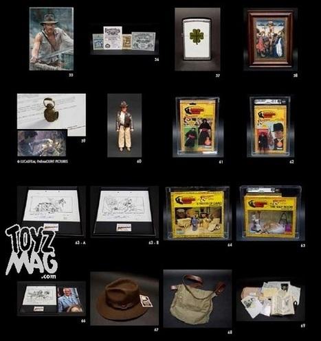 ToyzMag.com » Génération Cinéma : nous avons pu feuilleter le catalogue | Vente aux encheres mobilier  design et pop culture | Scoop.it
