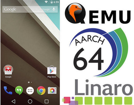 How to Build and Run Android L 64-bit ARM in QEMU | Embedded Systems News | Scoop.it