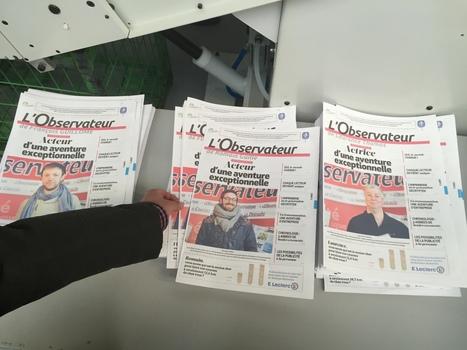 Info locale : la première imprimerie au monde qui personnalise les journaux est lancée… dans le Nord | Raconter l'info locale demain, et en vivre | Scoop.it