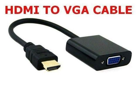 Hdmi to VGA Cable Adapter for Pc Laptop Power-free, Raspberry Pi, MHL Support | Raspberry pi Project | Scoop.it