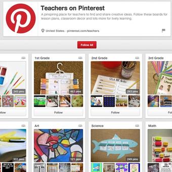 Pinterest Dedicates Special Project to Teachers | MECIX | Scoop.it