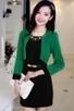 3/4 Sleeve Color Block Dress - OASAP.com | Oasap street fashion | Scoop.it