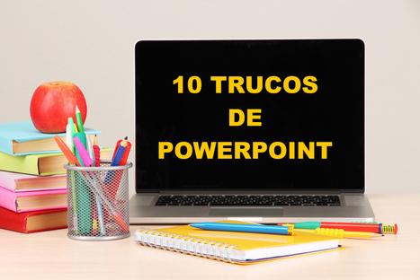 10 Trucos geniales de diseño para realizar un Powerpoint perfecto | EDUCACIÓN en Puerto TIC | Scoop.it