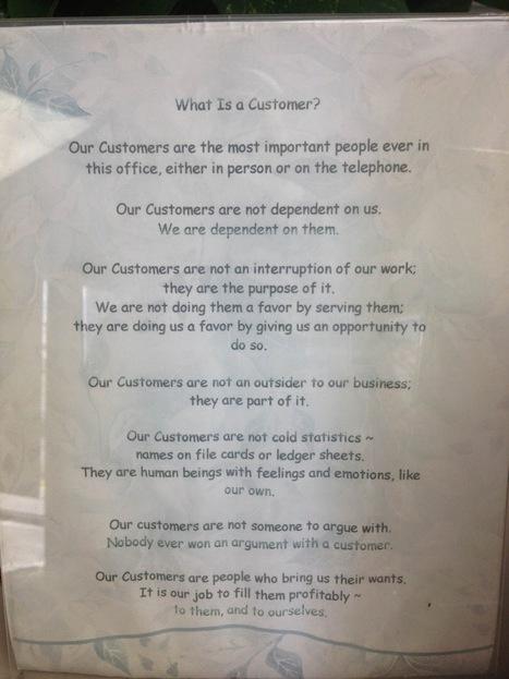 #Customer Service or Lip Service? | le commerce de centre ville | Scoop.it