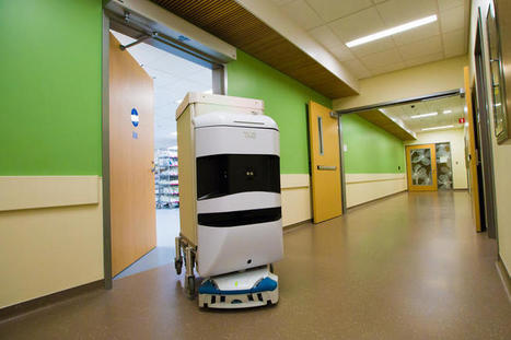 Robots roam hallways of SF's newest hospital, lending a helping Hand | Technology in Business Today | Scoop.it