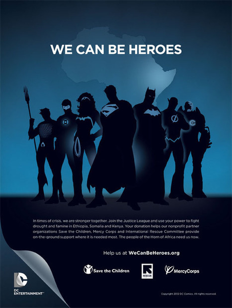 DC Entertainment Launches 'We Can Be Heroes' Humanitarian Fundraising Campaign | Transmedia: Storytelling for the Digital Age | Scoop.it