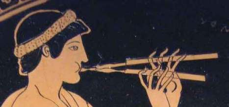 Ancient Greek Music and Musical Instruments (1/2) | mythologie grecque | Scoop.it