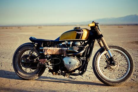 Triumph Bonneville - hey #57! R u ready for a desert trip?   Triumph Classic   Scoop.it