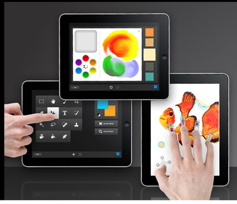 Adobe Launches iPad-friendly Photoshop Tools - TAXI Design Network | Following my passion | Scoop.it