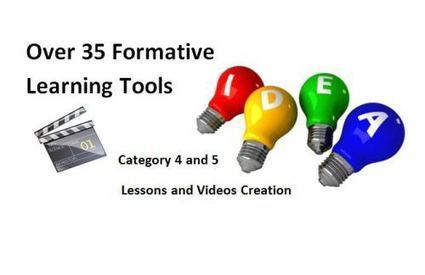 Part 3: Over 35 Formative Assessment Tools To Enhance Formative Learning Opportunities | Education Technology - theory & practice | Scoop.it