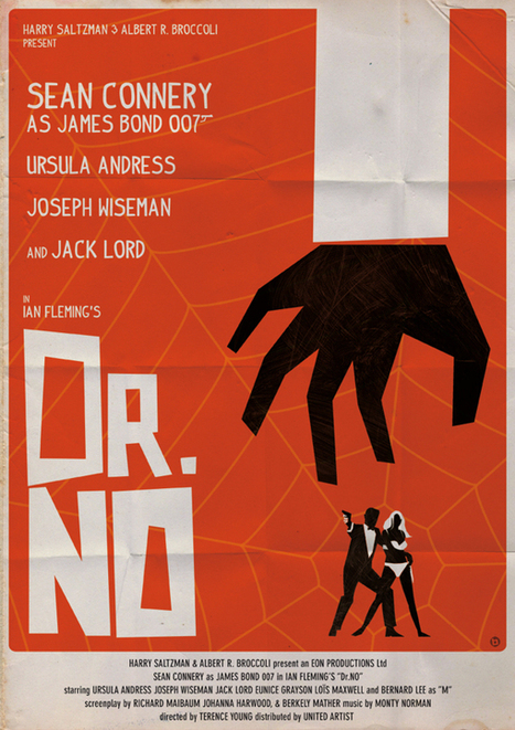 Vintage-Style James Bond Poster Series | Collecting About Design | Scoop.it