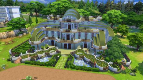 39 maison 39 in les sims 3 et 4 page 4 for Maison moderne de luxe sims 3