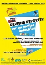Semaine de l'industrie en Essonne - Mars 2016 | FIPES | Innovation | Scoop.it