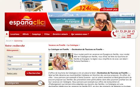 Catalogne : un nouveau label destiné aux familles | Tourisme en Catalogne - Paused topic | Scoop.it