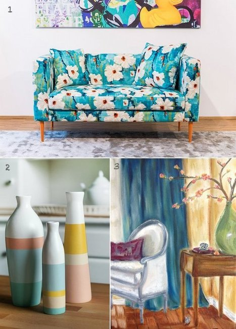 Happy Interior Blog: 5 Happy Inspirations: A Dash Of Spring For Your Happy Home | Interior Design & Decoration | Scoop.it