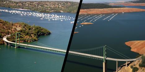 Les impressionnants avant/après la sécheresse en Californie | Theo Bcn | Scoop.it