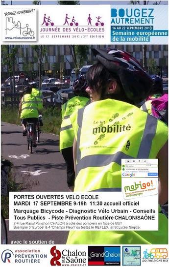Journée des vélo-écoles en France | SORTIR à Chalon ... avec V@C | Scoop.it