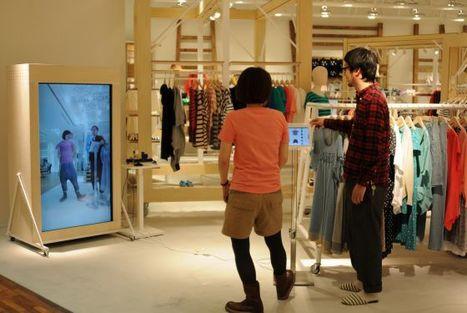 Un probador virtual en Tokio | comercio y TICs | Scoop.it