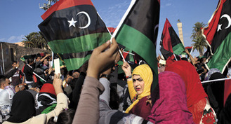 Women: The Libyan Rebellion's Secret Weapon | Voices in the Feminine - Digital Delights | Scoop.it