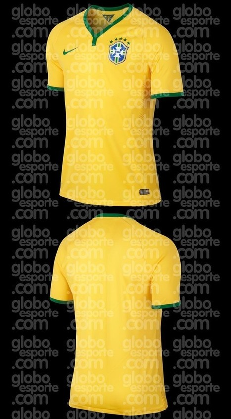 Exclusivo: conheça a camisa que o Brasil usará na Copa do Mundo de 2014 | Blog Manto FC | Copa do Mundo FIFA Brasil 2014 | Scoop.it