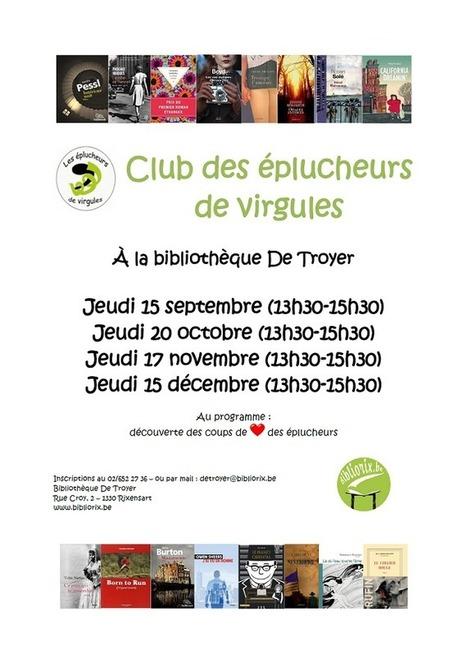 Escapages: Club des éplucheurs de virgules à la Bibliothèque De Troyer | Escapages | Scoop.it
