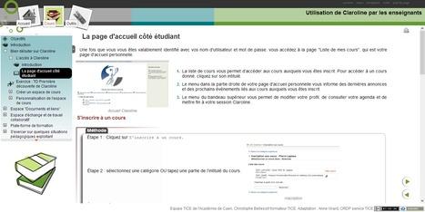 Créer gratuitement des espaces de cours en ligne avec Claroline | Formation aveyron CRP | Scoop.it