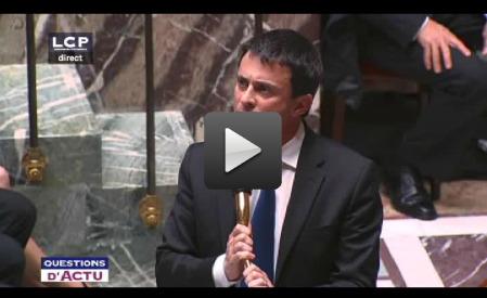 Manuel Valls pète les plombs à l'Assemblée Nationale ! | Music, Medias, Comm. Management | Scoop.it