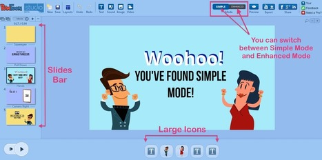 Announcing Simple Mode – Creating a PowToon just got 150x Easier | Digital Presentations in Education | Scoop.it