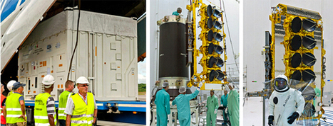 Arianespace Prep Continues For A Cluster Of Four O3b'ers | Satellite Communications | Scoop.it