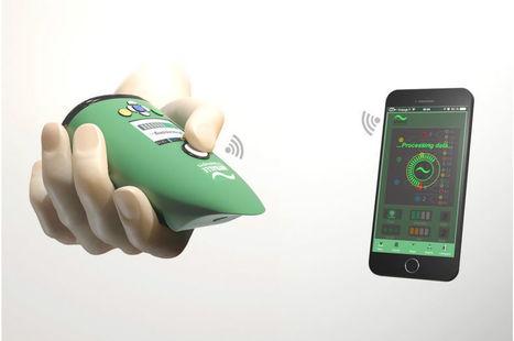 Aryballe Technologies lève 2,6 millions d'euros pour industrialiser son nez électronique universel   Objets connectés : Santé et Fitness   Scoop.it